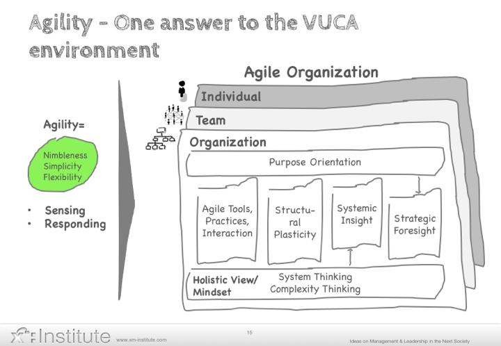 Agile Organisation Modell