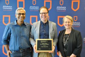 Oliver Mack Coaching Excellence Award Athabasca University