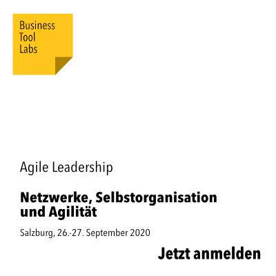 xm-labs xm-institute Oliver Mack Netzwerke Selbstorganisation Agilität